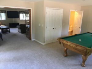"POOL TABLE, 60"" TV - Large Groups Welcome - ATTN: GREEN on OFSC"