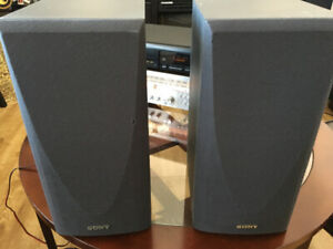 Sony bookshelf speakers 100 watts