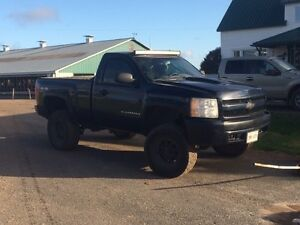 Lifted 2007 chev