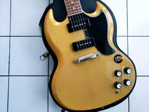 2011 Epiphone '61 SG Special - TV Yellow