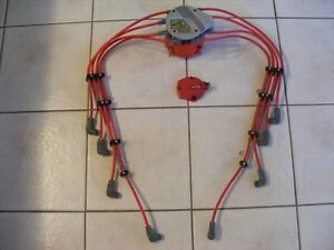 Gen I SBC - Distributor Cap, Rotor, Coil, Wires, Looms Assembly