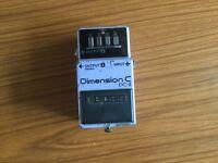 Boss Dimension C chorus pedal