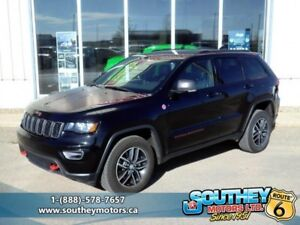 2017 Jeep Grand Cherokee Trailhawk  - Leather Seats - $312.07 B/
