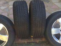 Tyres alloy wheels 215/55/16 Excelon