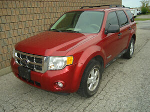 2008 FORD ESCAPE XLT..SAFETIED AND E-TESTED