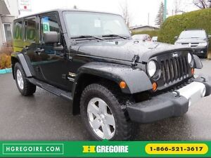 2010 Jeep Wrangler Sahara UNLIMITED AUT 4X4   A/C GR ELECTRIQUE