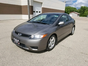 2008 Honda Civic Coupe - 2 door - leather - sunroof - clean