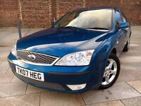 2007 FORD MONDEO AUTOMATIC ++ ALLOYS ++ ELECTRIC WINDOWS ++ CD ++ JULY MOT.