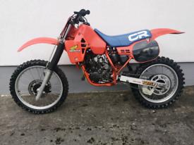 1984 Honda cr125