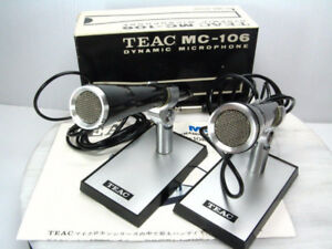 Vintage Microphones (In Box, With Manuals and Styrofoam).