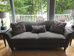 Lazy boy sofa and matching chair
