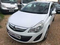 2012 Vauxhall Corsa 1.3CDTi ECOFLEX 1 Owner Ideal 1st Car Cheap Tax NEW MOT A/C