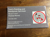Tom's Painting and Handyman Services