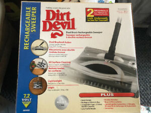 Dirt Devil Rechargeable Sweeper