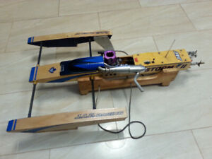 Rc boat JAE .21 outrigger