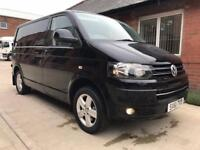 2011 Volkswagen T5 Transporter T30 TDI 180 Ps P/V Highline Black Van