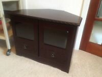 Real Mahogany TV unit - Immaculate condition