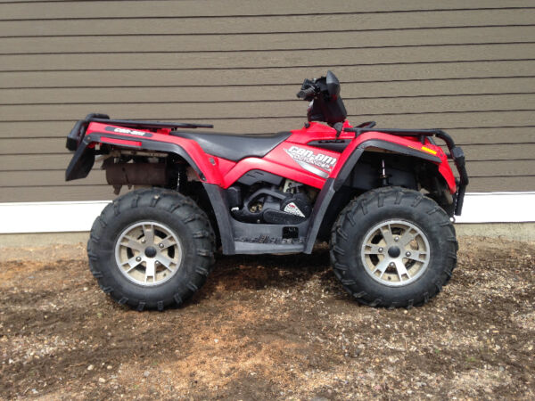 Used 2007 BRP outlander XT