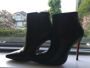 """Louboutin"" Ankle Boots (Like New)"