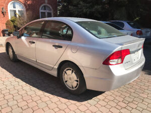 2010 HONDA CIVIC DX-G, AUTO,NO RUST,ONLY 137,000 KM