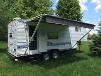 Roulotte Fifth Wheel nomad 26 pieds skyline