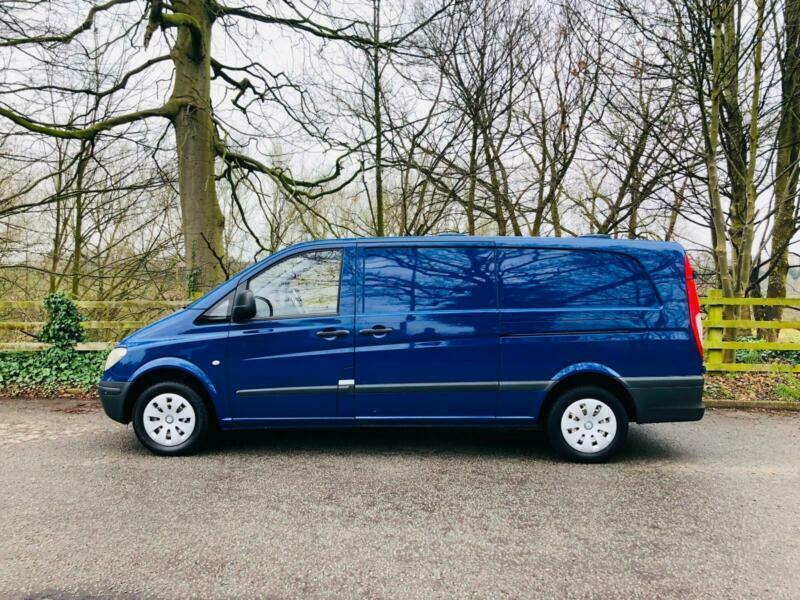 Mercedes-Benz Vito 2 1TD - Extra Long 111CDI dog van / pet transport /caged  van | in Trafford, Manchester | Gumtree