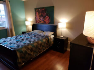 Fully furnished LARGE bedroom available April 1!