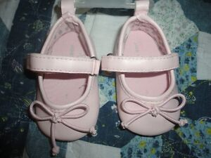 Pink Mary- Janes W/ a Bow Sz 1
