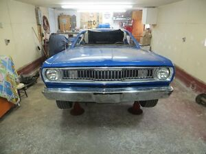 Mopar, Plymouth Duster bumpers, rear leafs springs