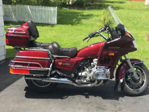 Honda Motorcycle (Gold Wing)
