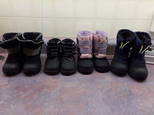 Winter boots size 5, 6, 7, 7