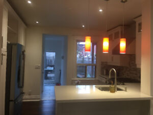 Spacious bright room for rent in newly renovated house
