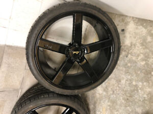 22 inch niche Milan 5x115 for sale or trade