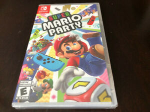 NINTENDO SWITCH GAME, SUPER MARIO PARTY