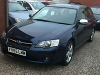 2006 Subaru Legacy 2.0 RE Sports Tourer, 5dr Estate, Petrol, 4WD, AWD.