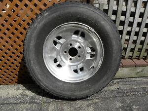 2 TRAILER TIRES & RIMS FOR SALE OR TRADE P235 75 / R15