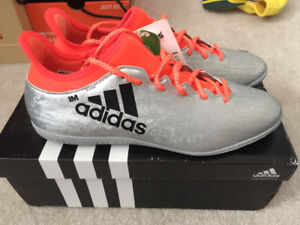Adidas X 16.3 INDOOR SOCCER SHOES MESSI CR7 SZ US9 MSRP $100