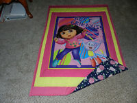 NEW DORA QUILT WITH FLANNELETTE BACKING FOR A TODD BED