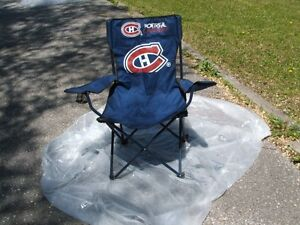 Montreal Canadiens Folding Chair + Carry Bag