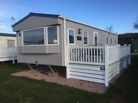 3 Bedroom (8 Brth) ABI Sunscape Static Caravan for Sale. Pitched at Elie Holiday Park, Elie Scotland
