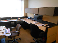 Over 100 used Teknion Cubicles / Workstations
