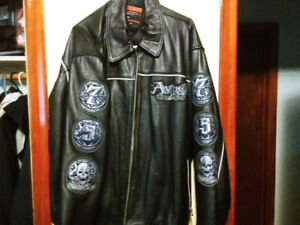 Avirex Rides & Rims leather jacket
