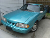 1993 93 Ford Mustang 4 cyl auto