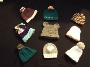 baby beanies (boys and girls )