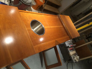 Solid cherry buffet hand crafted $99 Kitchener / Waterloo Kitchener Area image 4