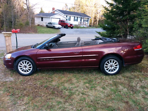 2001 Sebring convertible for sale