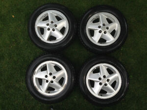 "All Sunfire/Cavalier 15"" rims & excellent Hankook grips. $375."