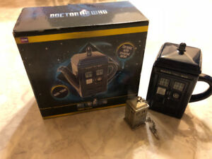 Doctor Who tea set