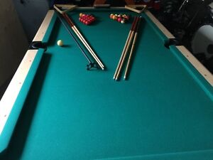 REDUCED!  DUFFERIN POOL TABLE