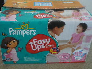 PAMPERS & HUGGIES PULLUPS / TRAINING PANTS 2T-3T & 3T-4T